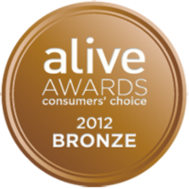 Earthlab Cosmetics Raw Mascara wins a Bronze medal in the Alive Awards!