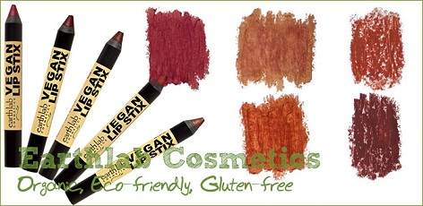 Earth Lab Cosmetics Vegan Lip Stix