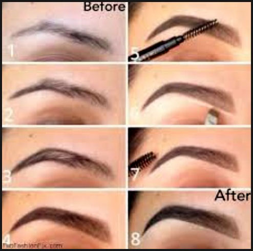 Natural Brow Builder steps